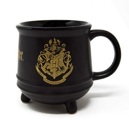Harry Potter Hogwarts Crest 3D Cauldron Mug